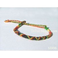 Handmade thick cotton rasta string ties