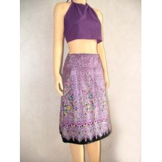 lai thai wrap skirt [short]