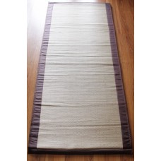 Natural woven bamboo grass yoga mat