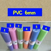 Yoga Mat - PVC 6mm